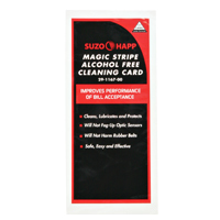 Dollar bill cleaning card