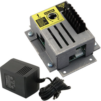 KIOSK AUDIO AMPLIFIER & ENCLOSURE ASSEMBLY WITH POWER SUPPLY